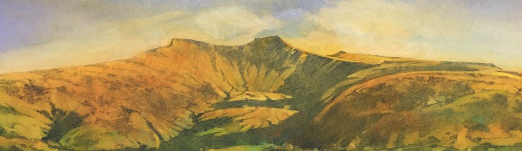 Evening on the Beacons by Paul Millis