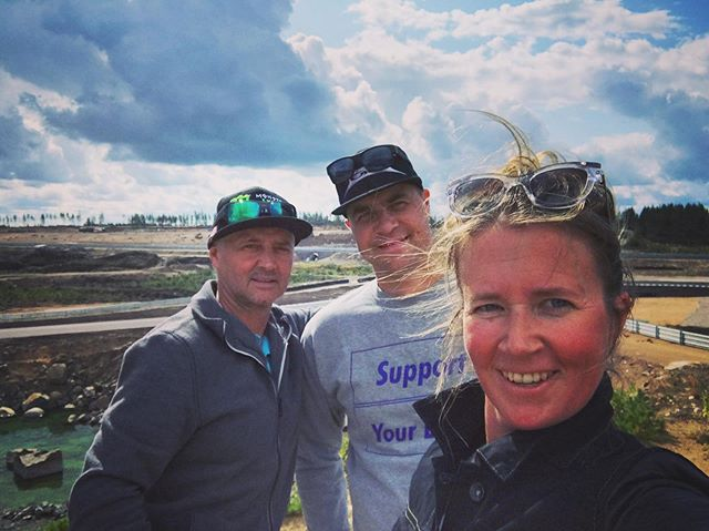 Track plan set for #mxgpfinland in #kymiring 🙏🏻 Big thank you  for our Youthstream approved track designer Freddy Verherstraeten for his visit.