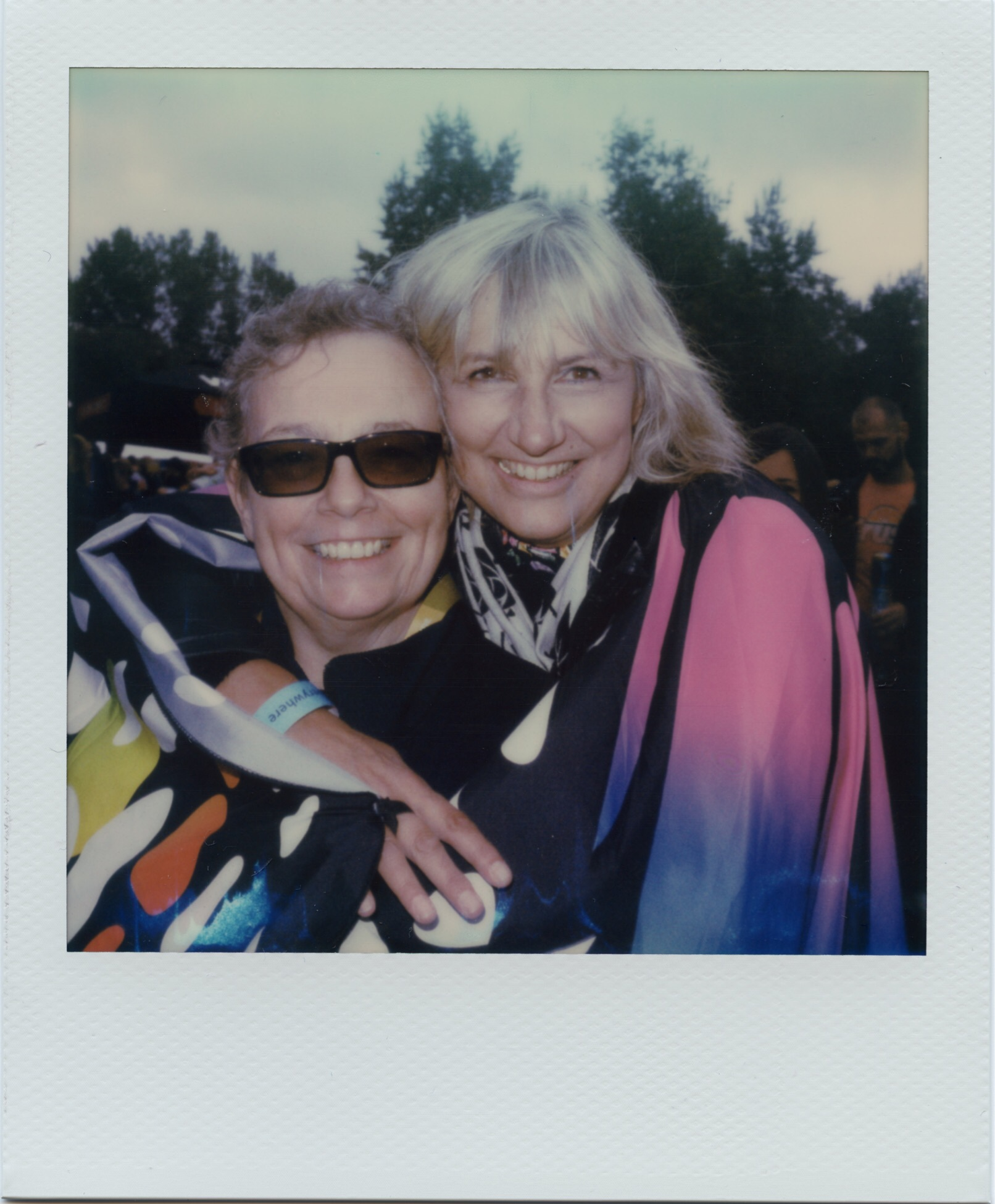Venerable Happiness - Polaroid SLR680