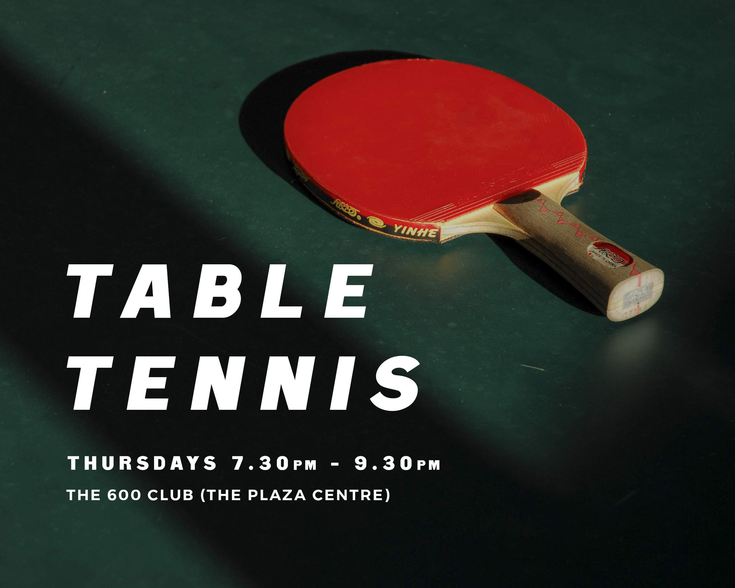 Coordinator: Brenda Dalley   For all who can, or would like to, play table tennis together. We have fun! 11 to 18year olds welcome from 7.30pm to 8.30pm.