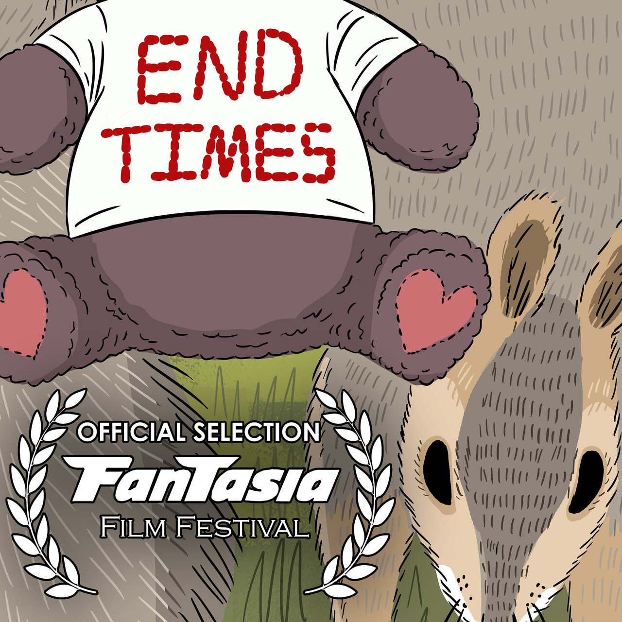 "Super honored and thrilled to announce  END TIMES  will make its international premiere at the Fantasia Film Festival in Montreal!   It screens in front of the Danny Mcbride film ""ARIZONA"" on July 31st."