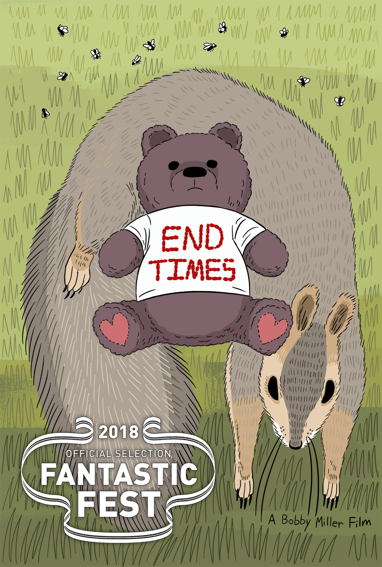 Excited to say my new short  END TIMES  is heading to  Fantastic Fest  ! And you're damn right I'm gonna be there for it! See you soon, Austin!