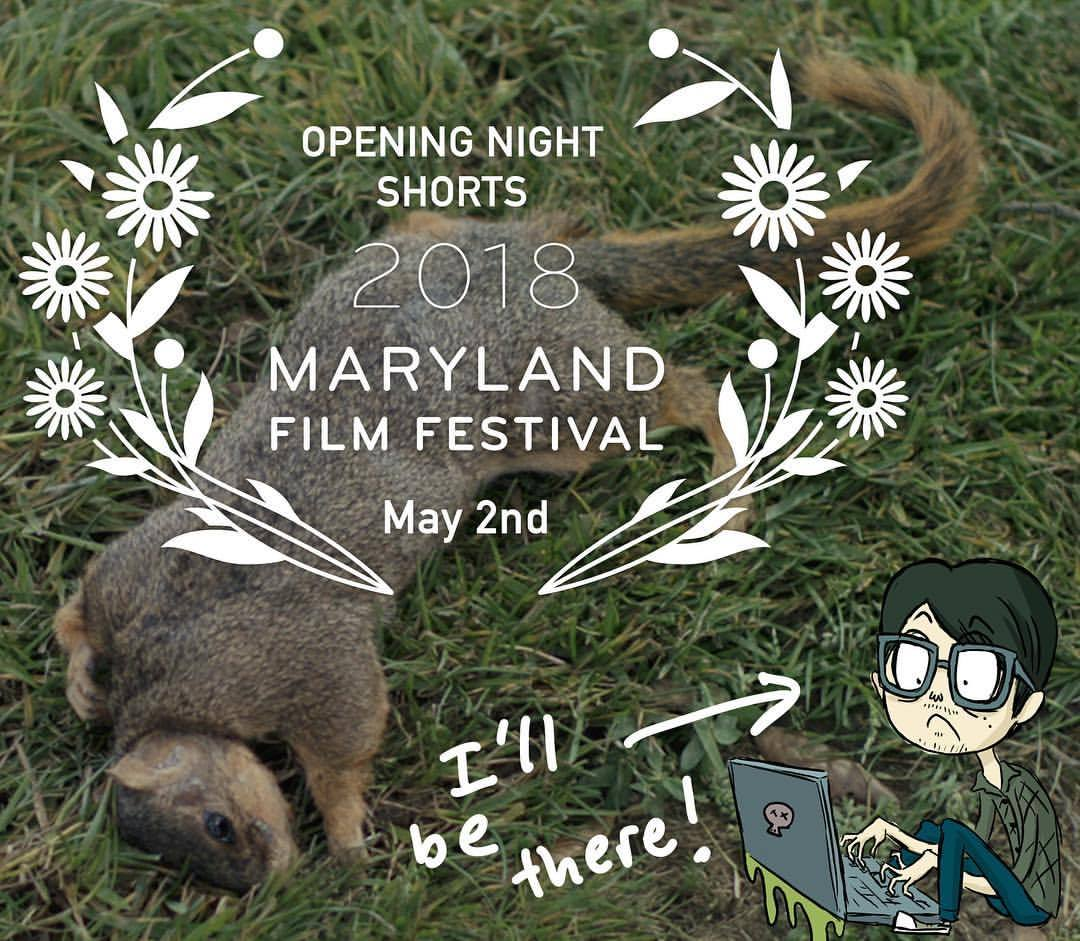 Thrilled and honored that my short film END TIMES has been selected as one of the Opening Night Shorts for @marylandfilmfestival!  I will be there for this one, folks! May 2nd! #endtimesfilm