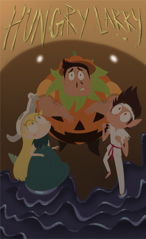 """Hey internet! I co-wrote an episode of  Star Vs. The Forces of Evil ! It's a Halloween special called""""Hungry Larry"""" and it airsMonday, October 10th at 7:30pm/6:30c on Disney XD! It was so much fun and the amazingly talented Star crew kicked butt on it! If you don't have cable, the episode will be on iTunes  here . #ThereWillBeGoo  Poster by  Becky Dreistadt ."""
