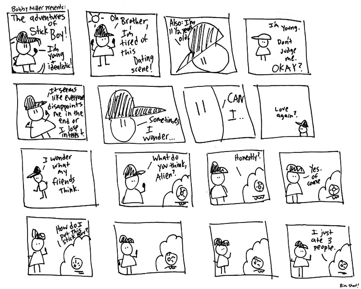 The Adventures of StickBoy, Volume 1