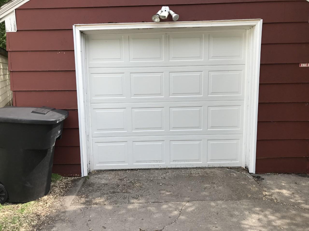 Garage Door After Trim Update