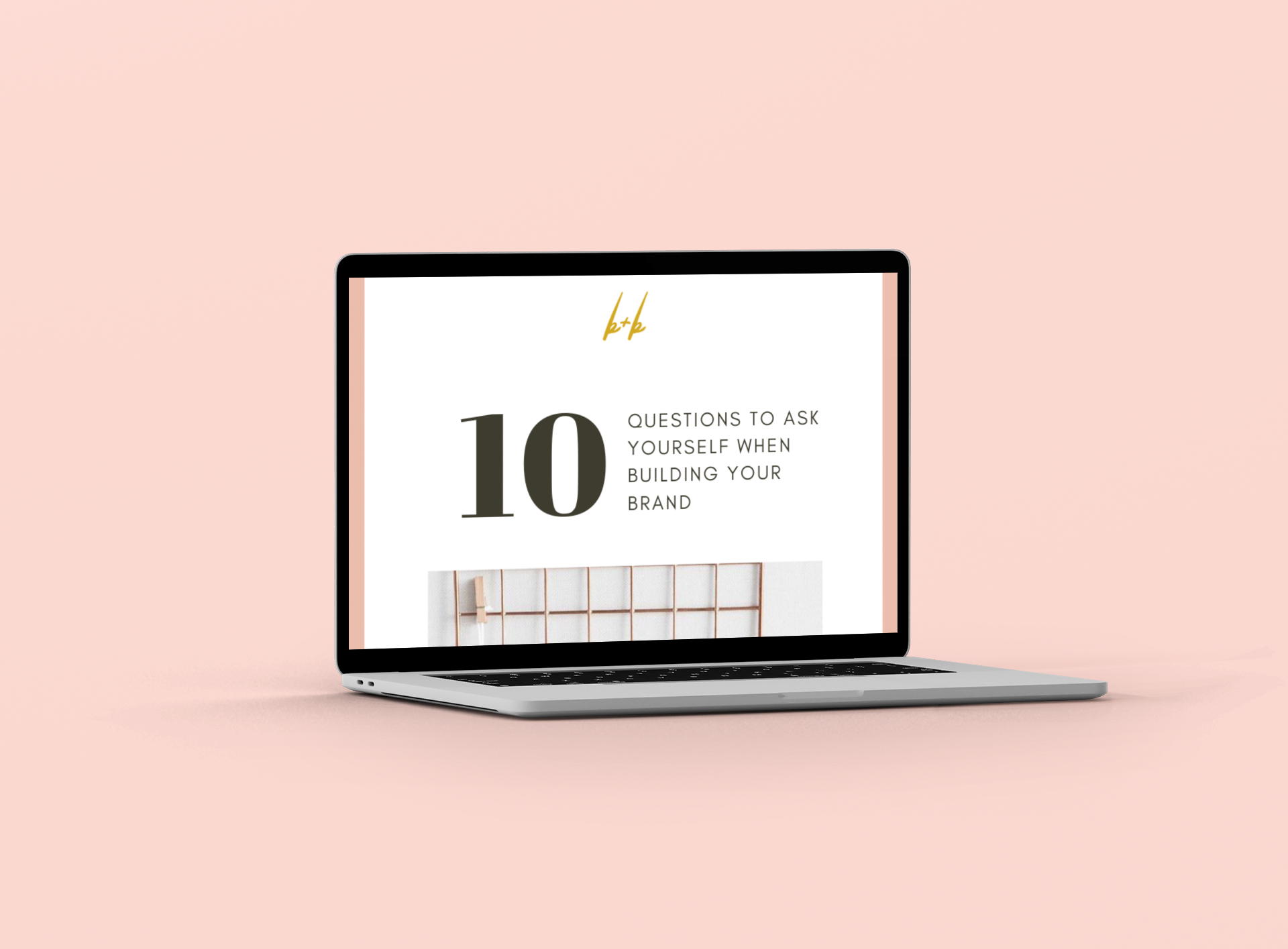 BUILD A BRAND THAT BOOKS! - Get the 10 questions every entrepreneur needs to ask themselves when building a brand that books!
