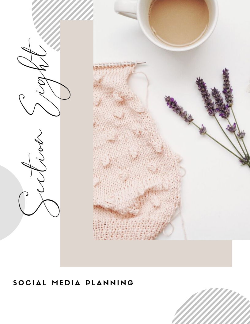 Social media planning ! - For members only! Click 'GET ACCESS' to join the BizBrunch Collective and see exclusive content.