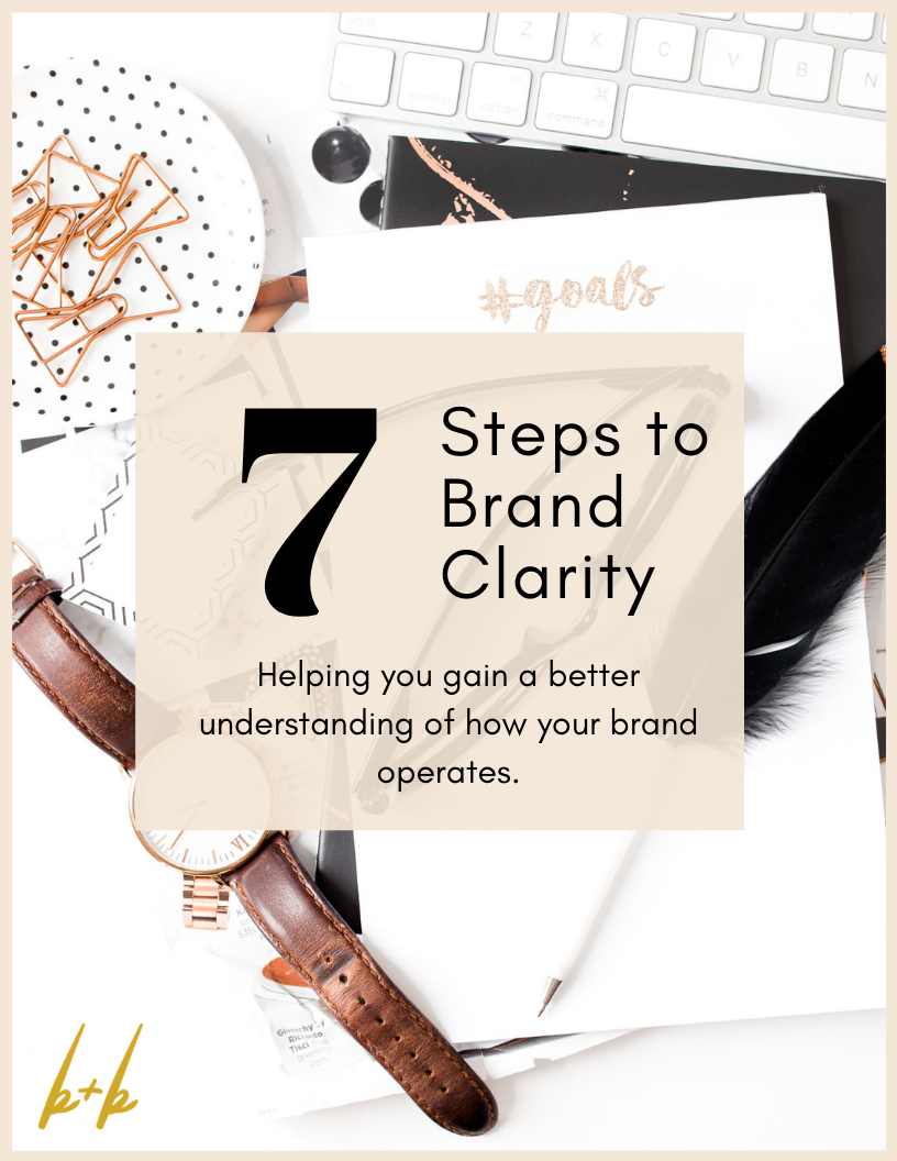 7 steps to brand clarity - For members only! Click 'GET ACCESS' to join the BizBrunch Collective and see exclusive content.