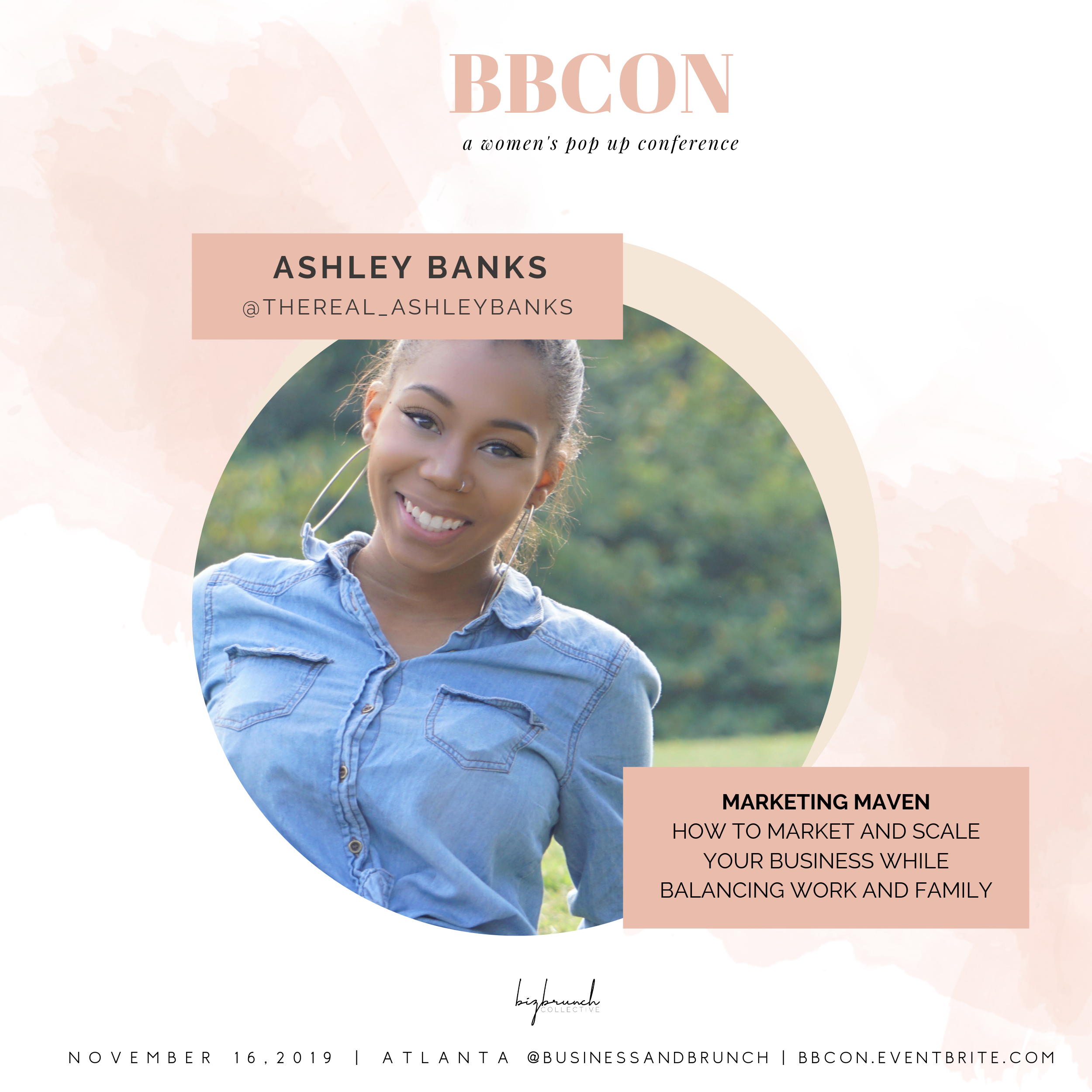 Ashley Banks at BBCON