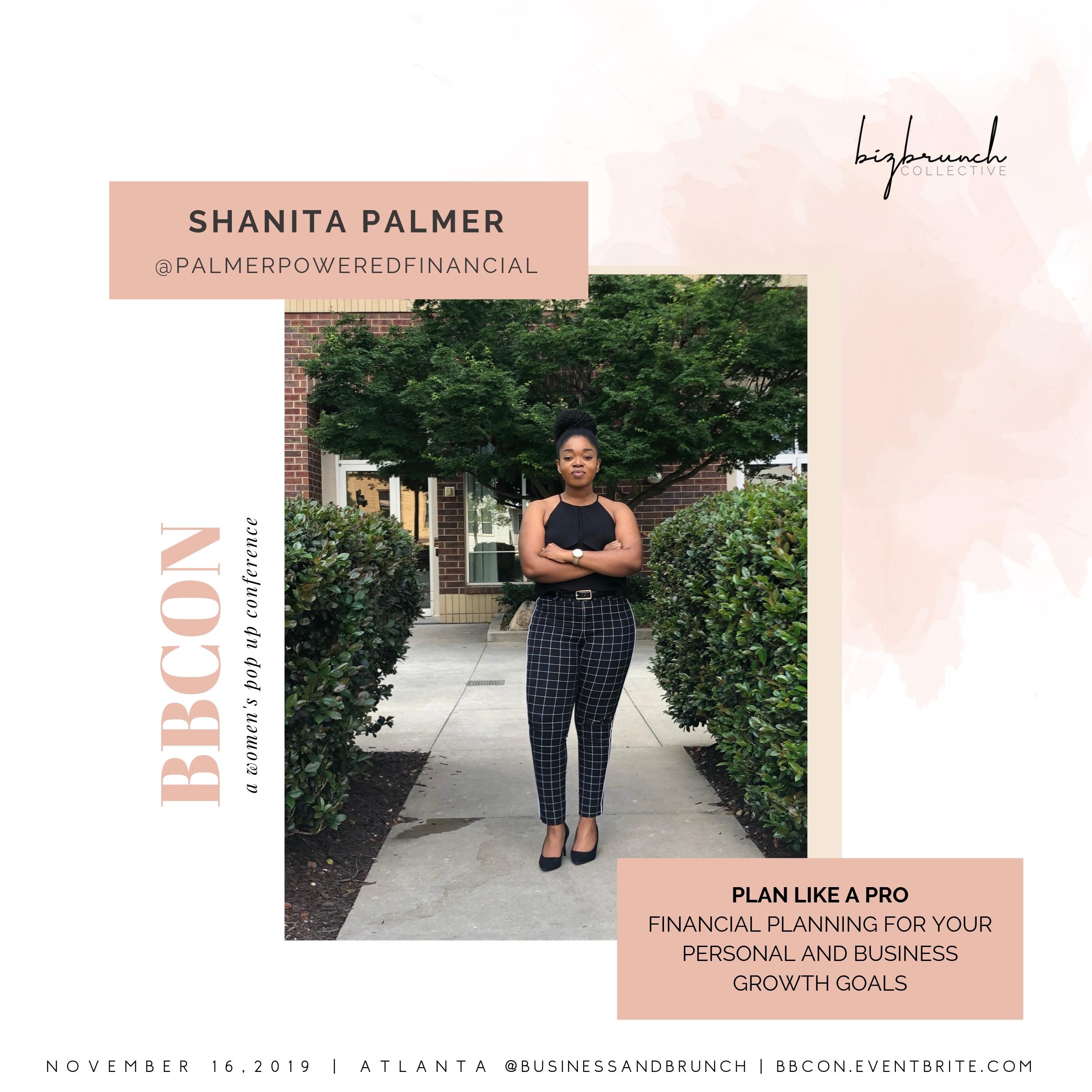 Shanita Palmer at BBCON
