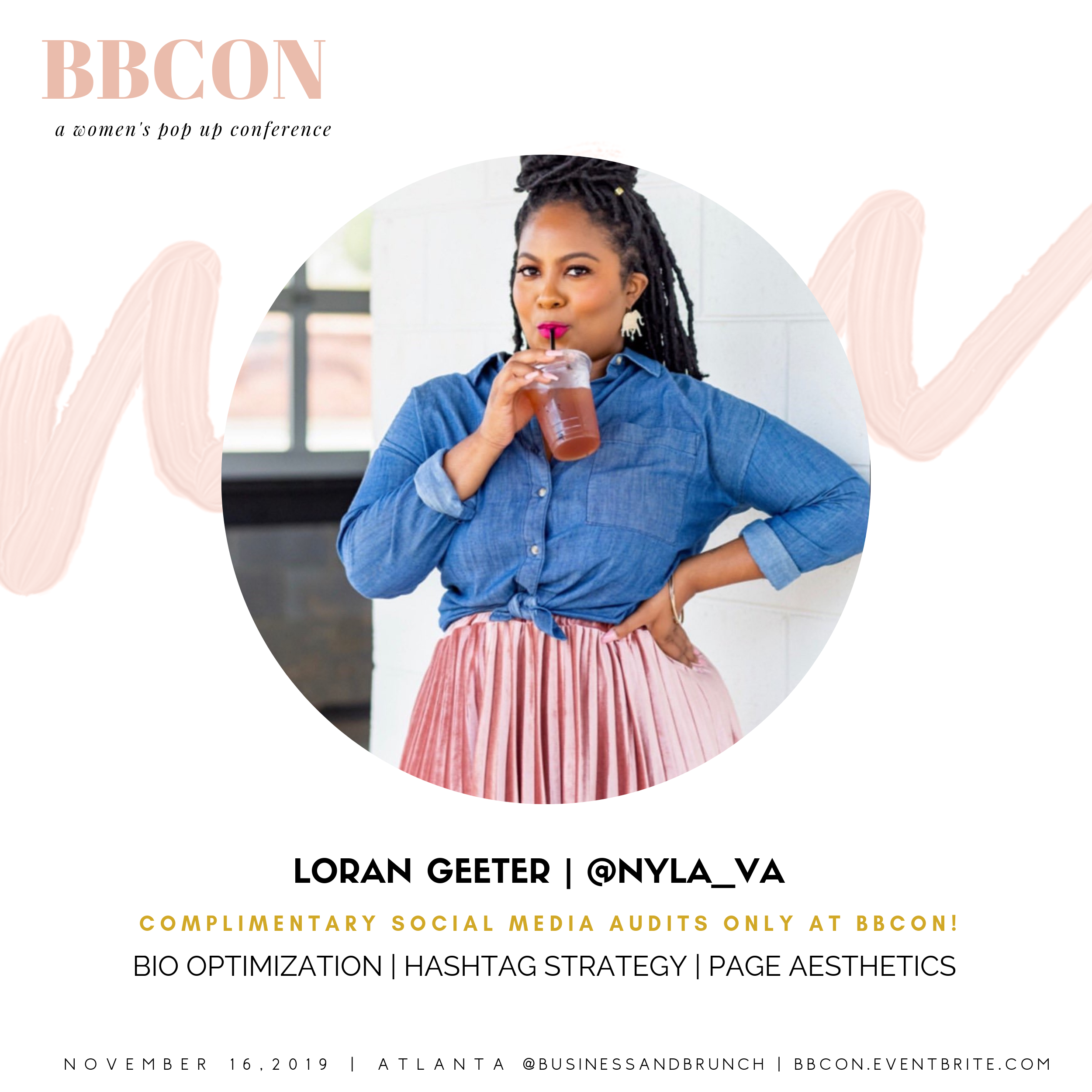 Loran Geeter - Meet Loran and sign up to receive your free social media audit!