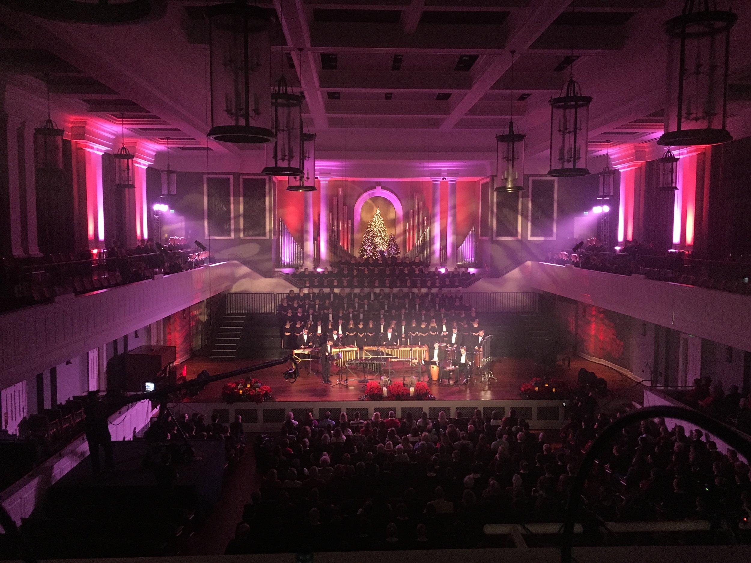Christmas at Belmont 2017  McAfee Church - Belmont University, Nashville, TN