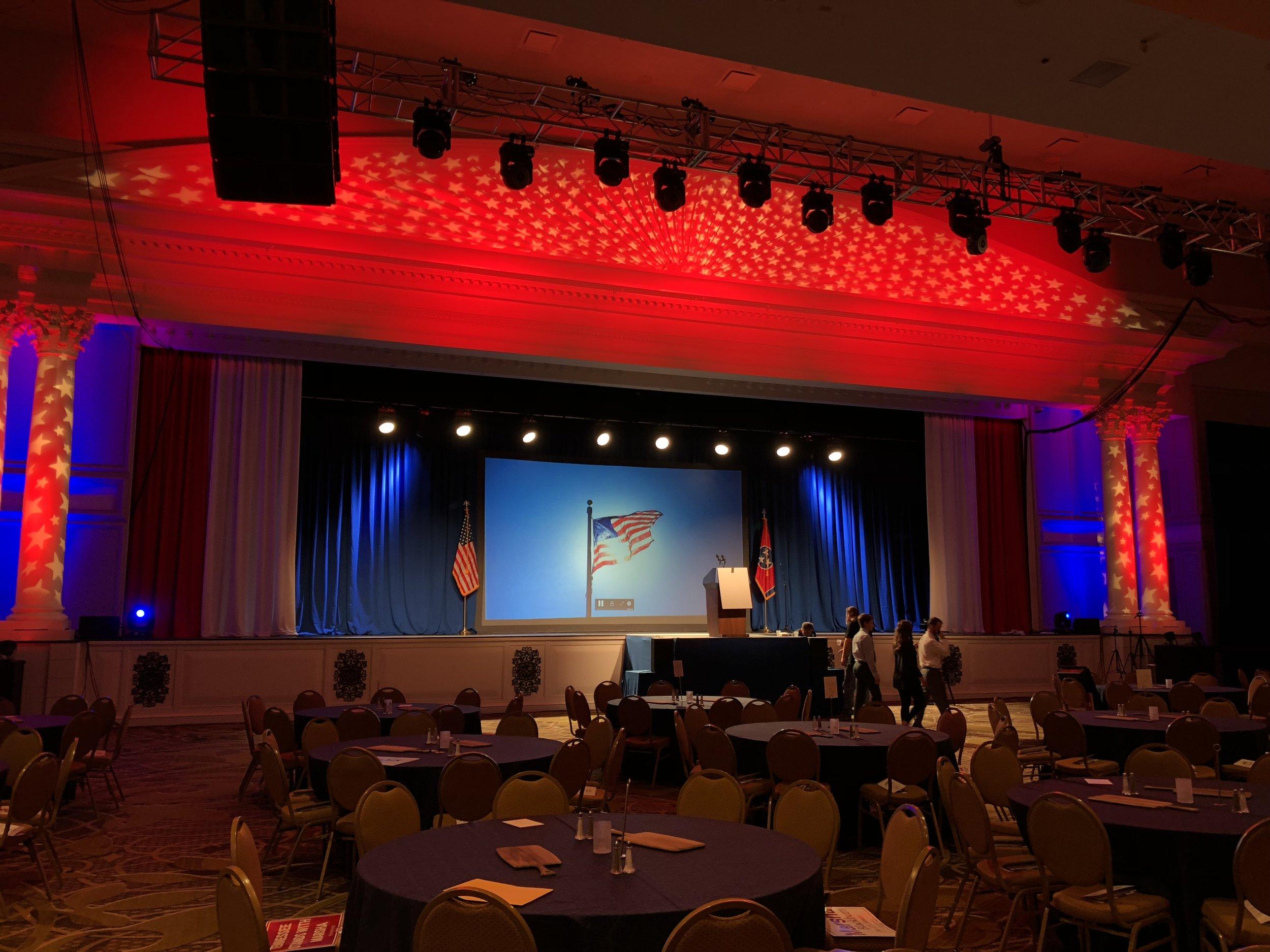 Statesmen's Dinner 2018  Gaylord Opryland Hotel, Nashville, TN