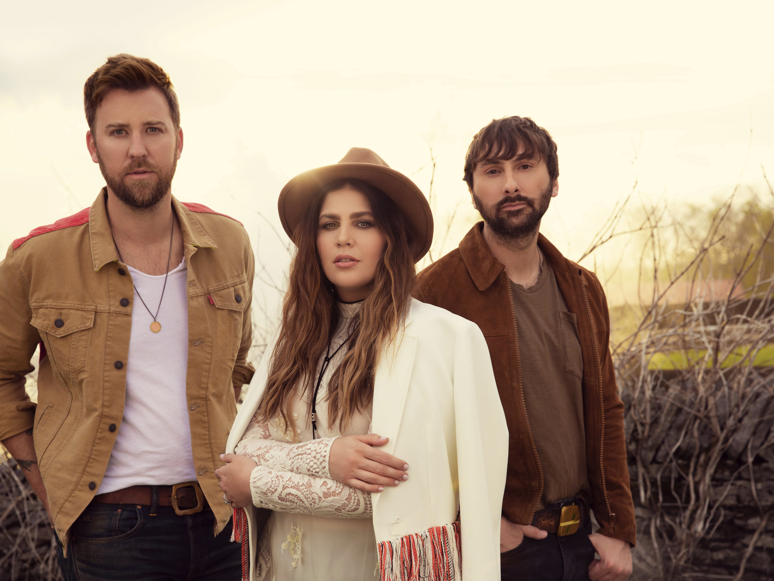 "LADY ANTEBELLUM - Lady Antebellum has become one of the 21st century's premier vocal groups, recently releasing the haunting ""What If I Never Get Over You."" Now the most-added single upon release of their career, the new track blends deeply felt emotions with classic country sounds. As a Country-radio staple, the trio has amassed record-breaking success with nine No. One hits while ushering in more than 18 million album units and 34 million tracks sold, with over four billion digital streams. Known for their 9X PLATINUM hit ""Need You Now,"" they have earned ACM and CMA"