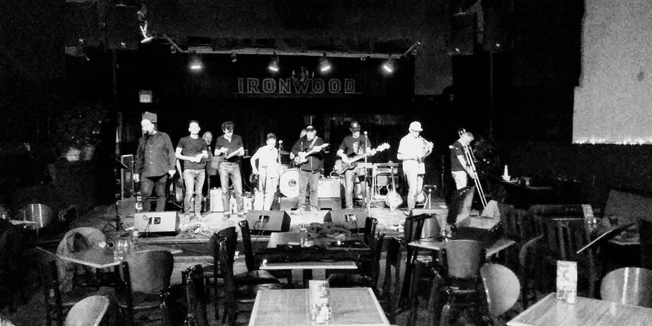 Rehearsal for the Bob Dylan birthday bash.
