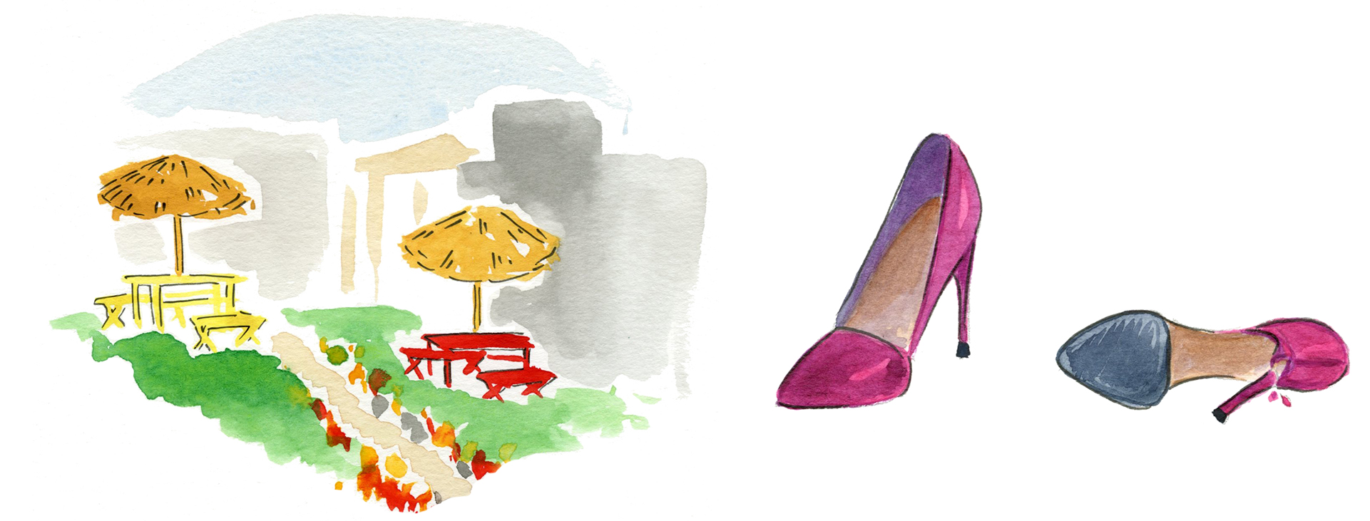 In Her Shoes Illustration