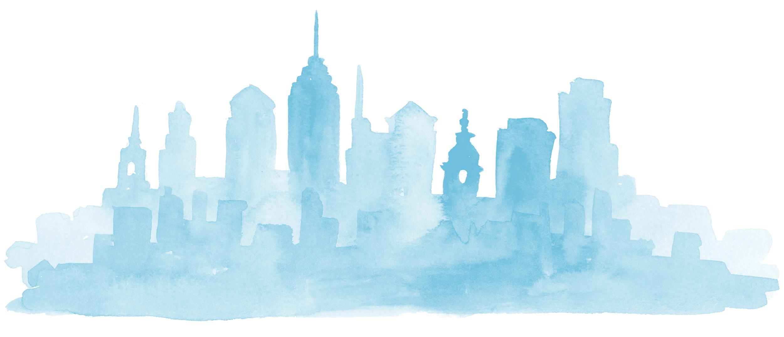 Philadelphia Skyline Kathryn Holeman