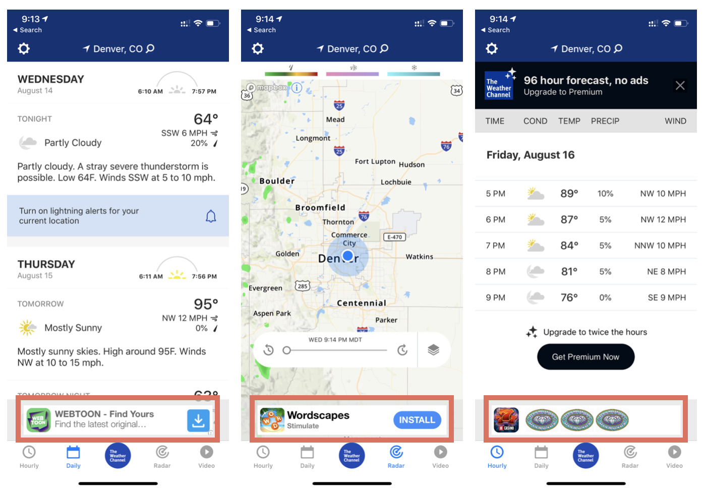 Ad networks often serve low-quality install ads which often don't articulate what the app is and why the user should take the time to download it.
