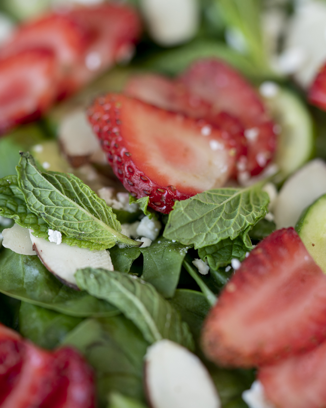 Summer Cucumber and Strawberry Spinach Salad by Knotably Creative House 012.jpg