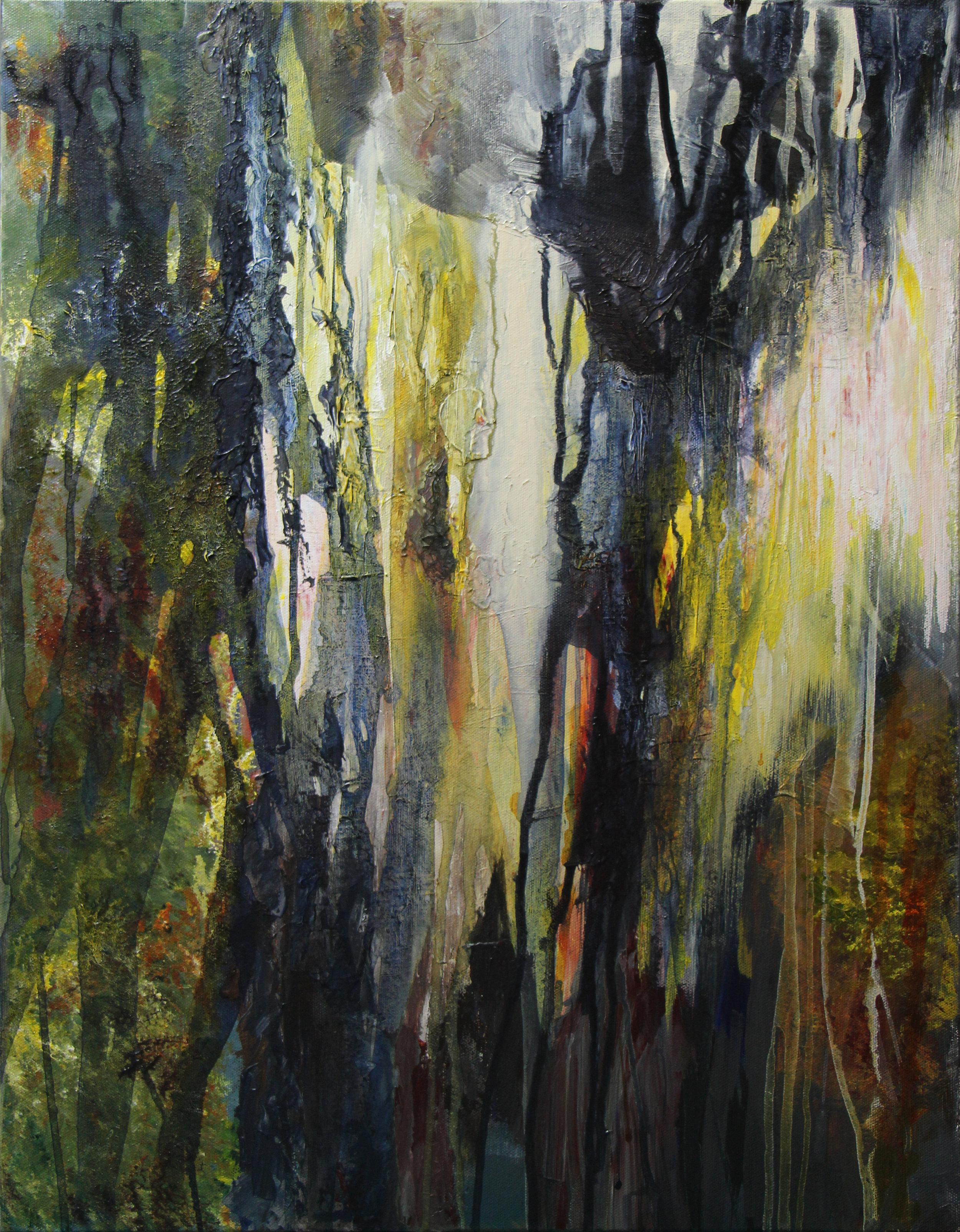 """mangrove - Acrylic on canvas22"""" x 28"""""""