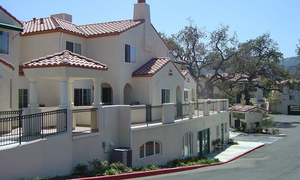 Many Mansions - Thousand Oaks, CA (while @ Li & Associates)Structural design of two affordable family housing buildings. (8,526 and 8,825 sq. ft.) first floor parking under (23,124 and 20,247 sq. ft.) multi-family housing on the second through third floors. The second floor was made of cast-in-place two-way slabs, and columns which supports Type V two story multi-family housing. Special details include large patios, spiraling staircases and a first floor partially below grade.
