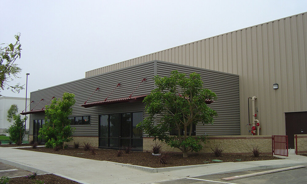 V.C.F.P.D. Support Facilities - Oxnard, CA (while @ Li & Associates)Structural design of four new buildings. The buildings include a foundation design for a warehouse manufactured steel building (11,686 sq. ft.). Also a training building (9,950 sq. ft.) made of steel columns and beams, a concrete metal deck and metal stud curtain walls except at CMU walls at the garage bays. The other two buildings are storage and a fuel island.