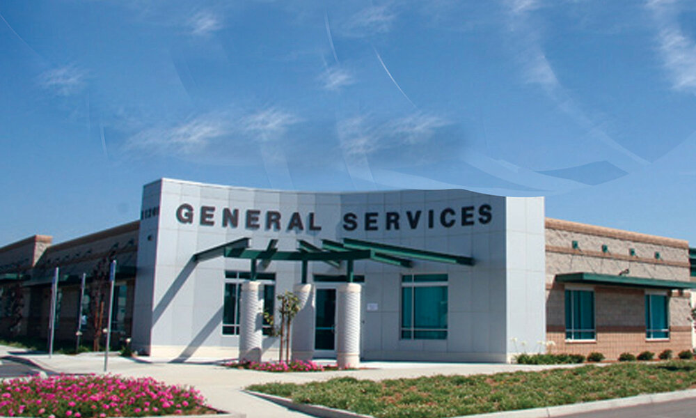 County of Ventura Operations Yard - Saticoy, CA (while @ Li & Associates)Structural design of 6 buildings. Buildings A and B (48,846 and 36,775 sq. ft.) are masonry with a panelized wood roof, steel joists at the office portions and prefabricated steel buildings with concrete tilt-up panel curtain walls at the operations portions. Buildings C and D (2,100 and 3,420 sq. ft.) are storage buildings. The other buildings include a vehicle wash bay and fuel station. Special details include radius curved curtain wall, trusses spanning more then 50'-0