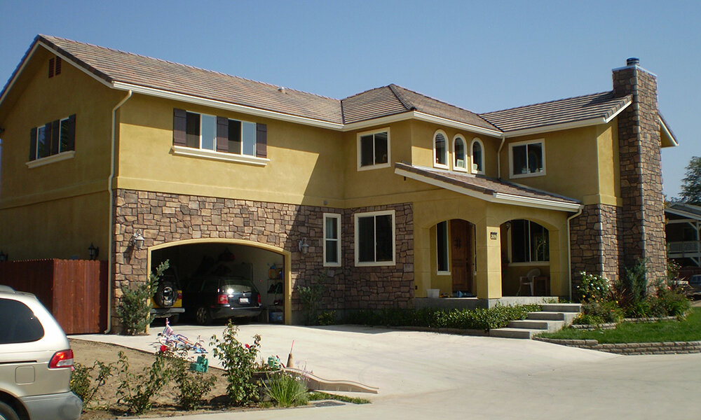 likes residence - Simi Valley, CAStructural design on this new (4,029 sq. ft.) two story single family custom home. Type V wood construction. Engineered floor joist with plate truss roof.
