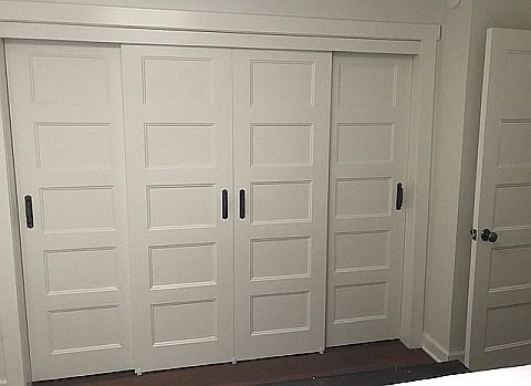 Bypass Closet Doors Interior Redoux