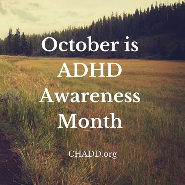 Do you know someone with ADHD?  It helps to be educated. #adhd #adhdawareness #adhdlife #adhdawarenessmonth
