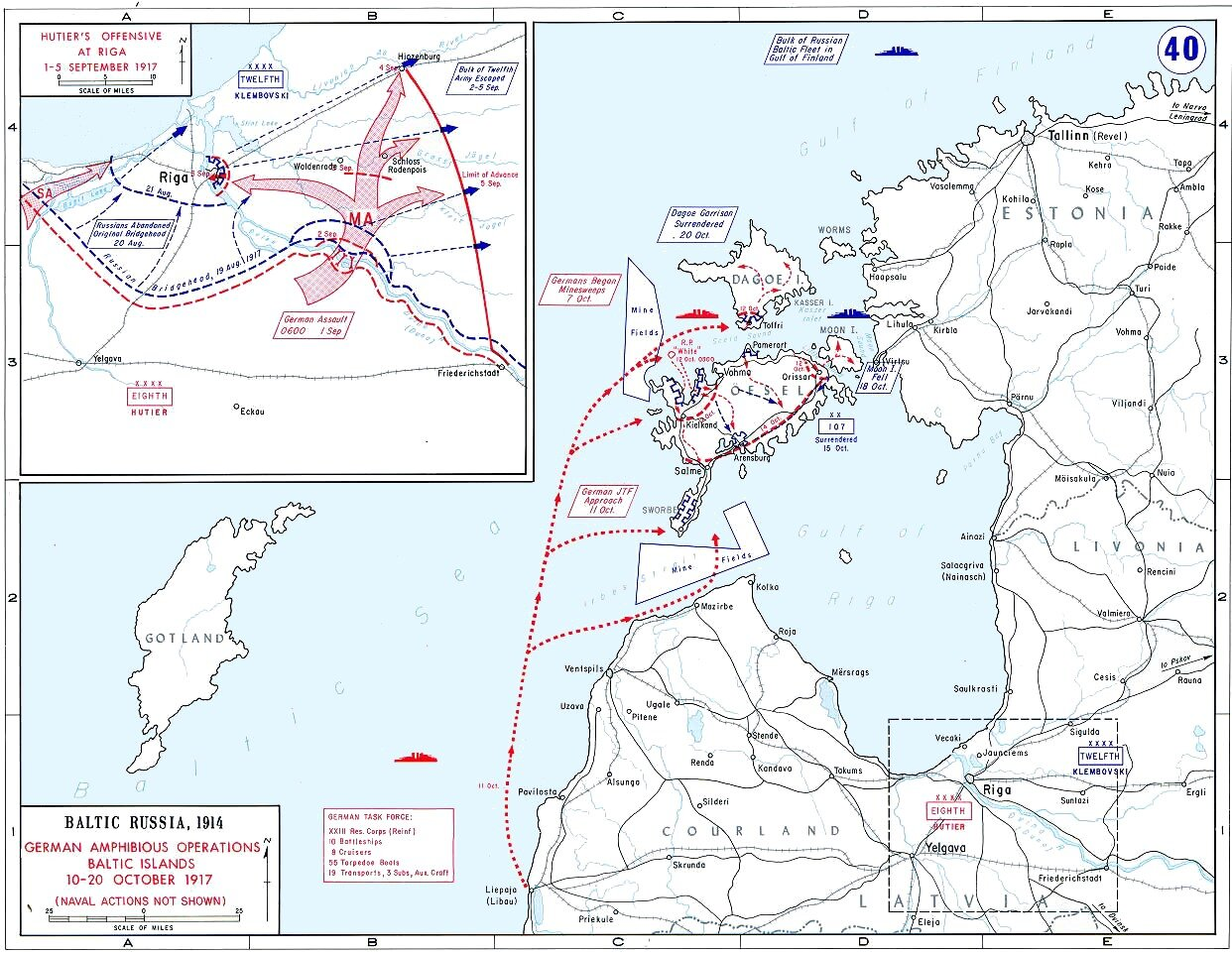 Operation Albion (click for greater detail).