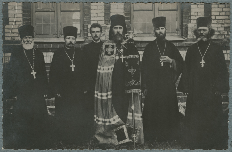 Bishop Platon and Estonian priests (1918-1919)