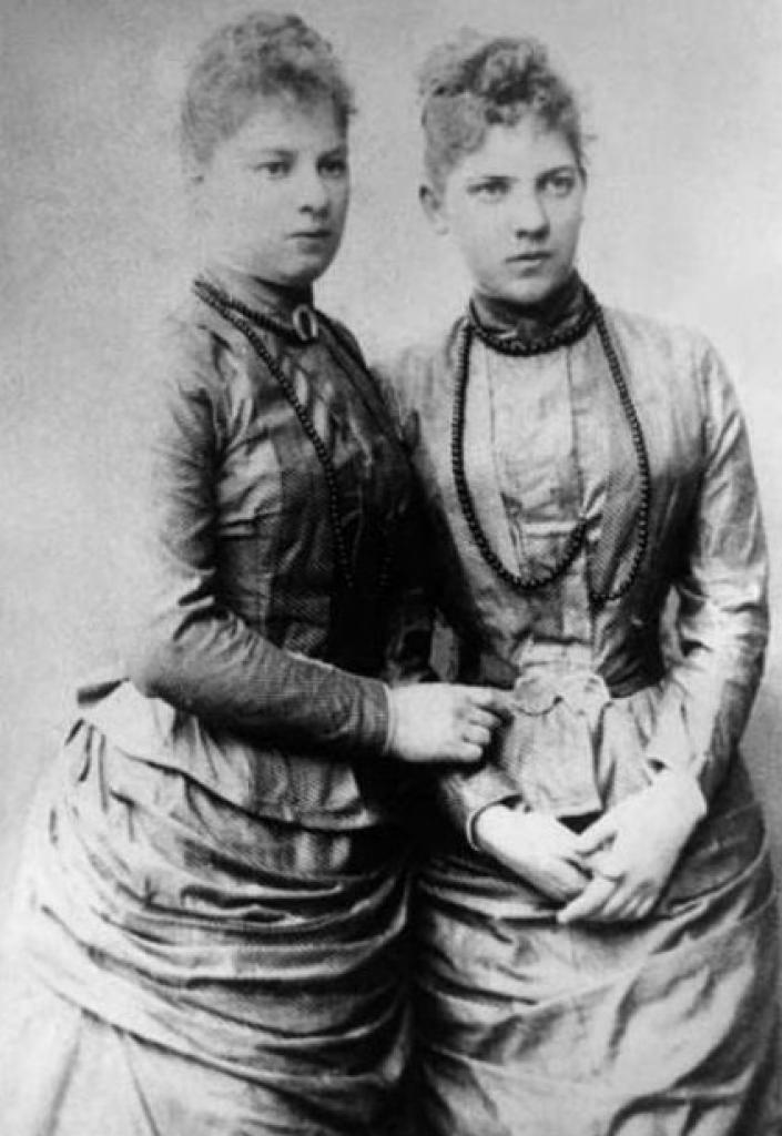 Ekaterina and Natalia Mansurova (before taking monastic vows)