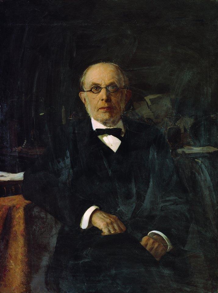 Konstantin P. Pobedonostsev, ober procuator of the Holy Synod (1827-1907).