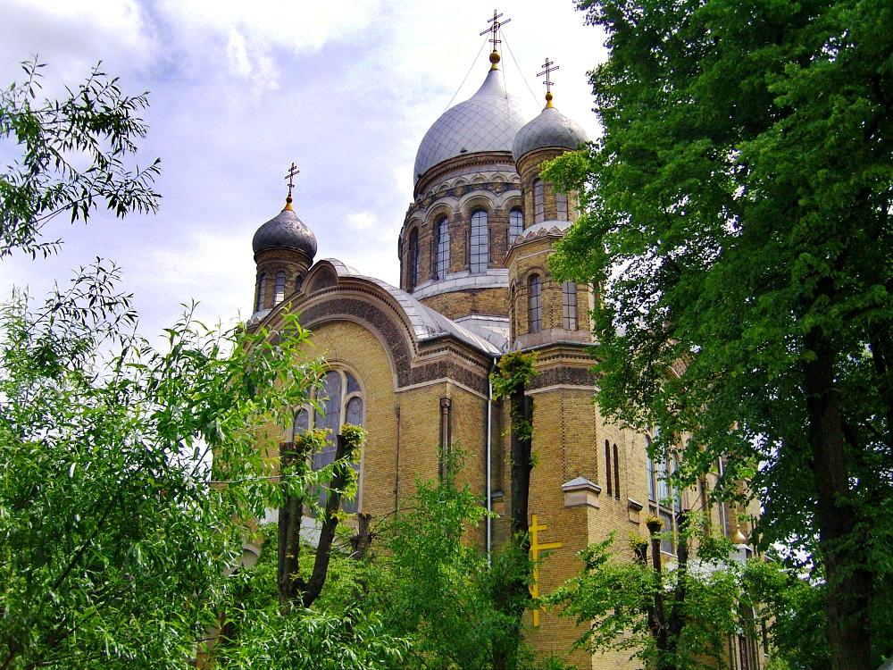 Main church of the Riga Sviato-Troitske-Sergeev convent
