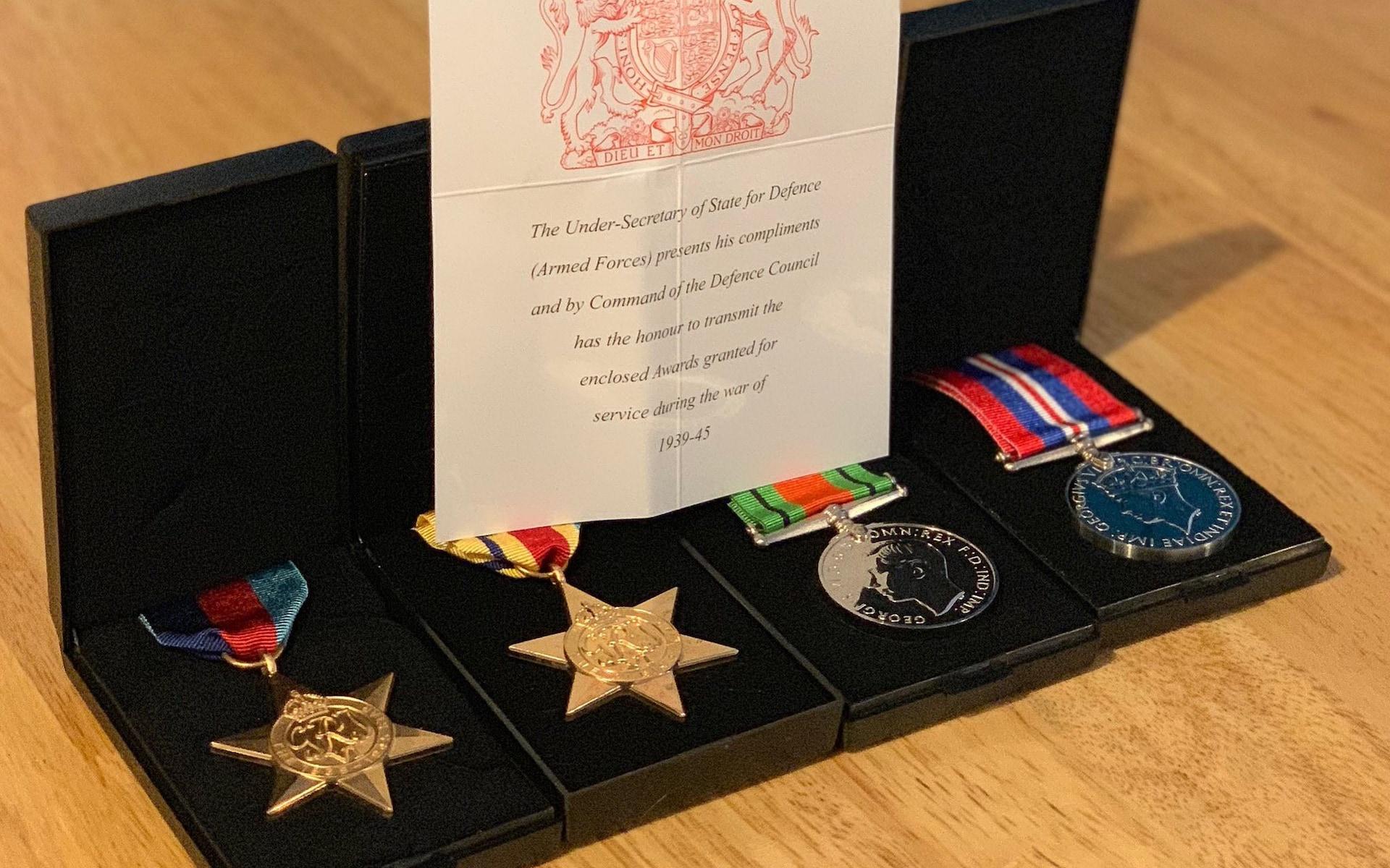 Roald Dahl medals