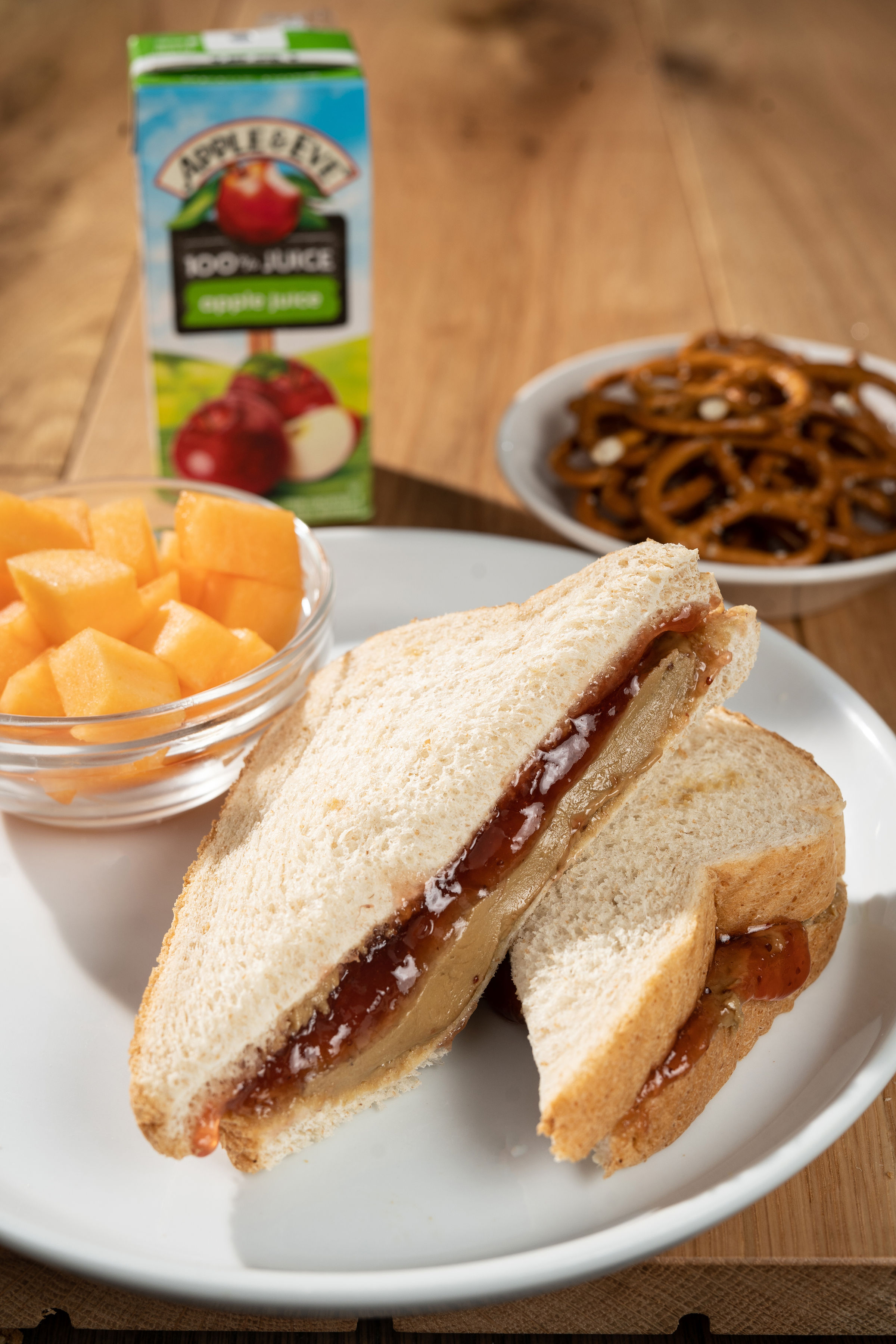 Sunflower Butter & Jelly Sandwich