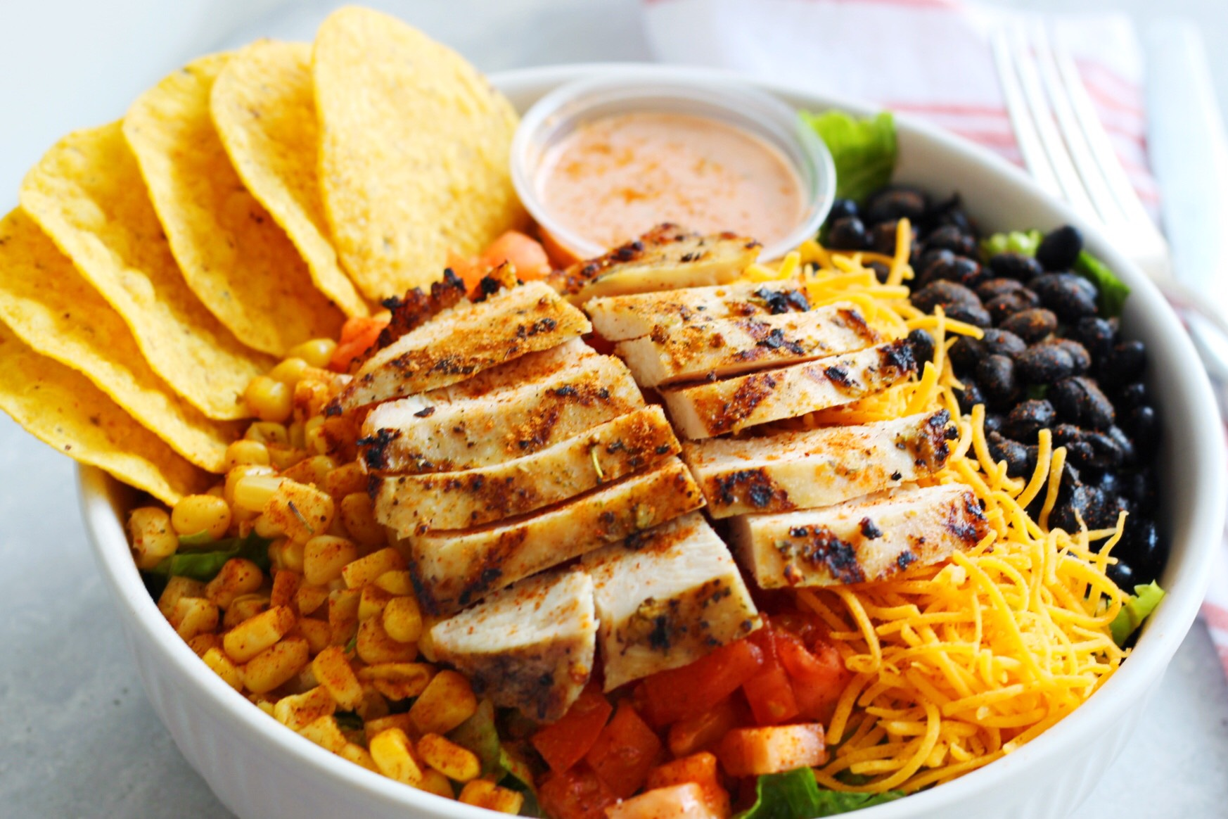 Fiesta Salad + Chicken