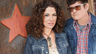 Anna Wilson and Monty Powell, TrouBeliever Fest founders and Americana Duo, Troubadour 77 Photo Cred: Ken Sullivan