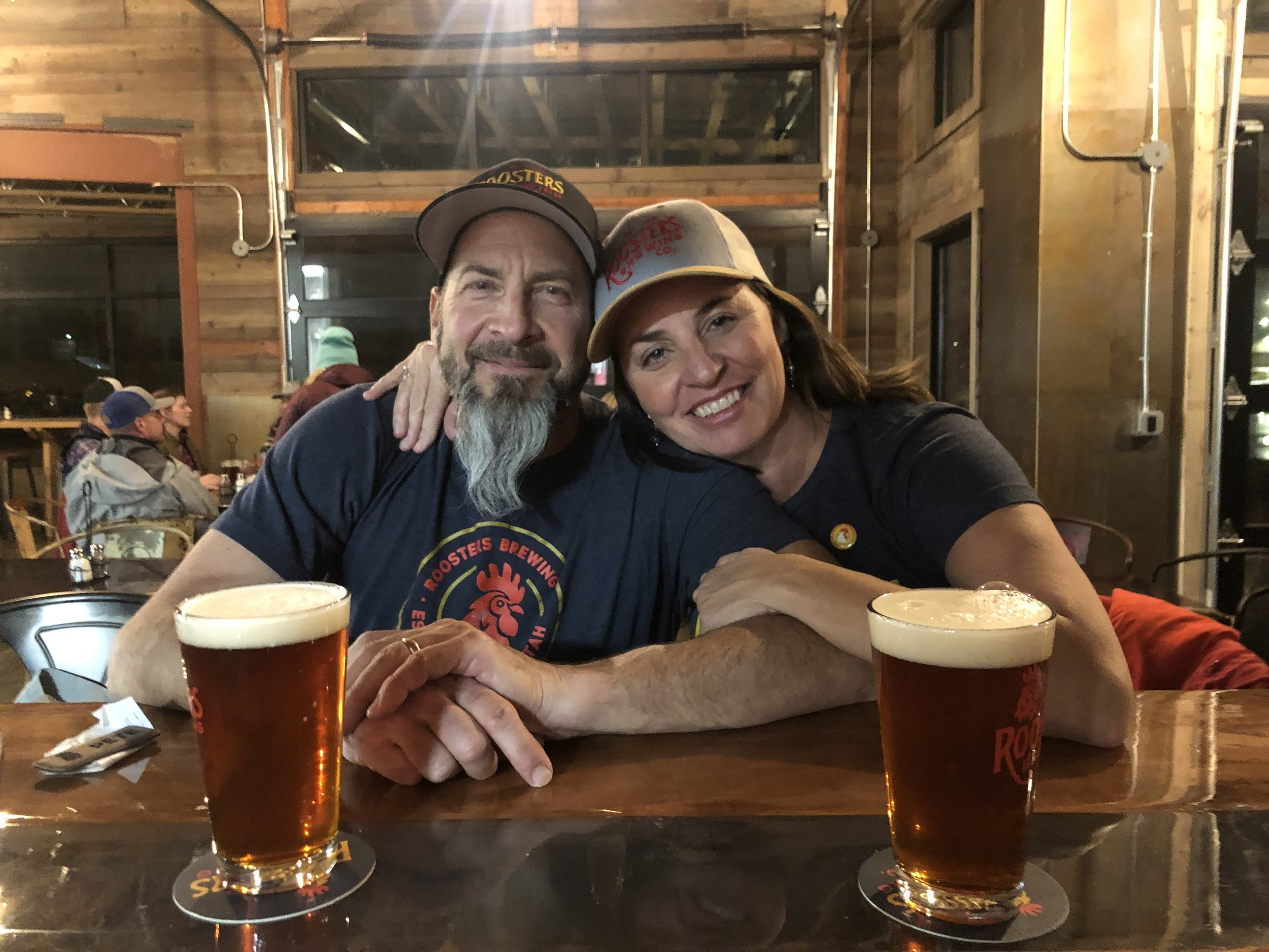Kym and Pete Buttschardt  Restaurant/Brewery Owners