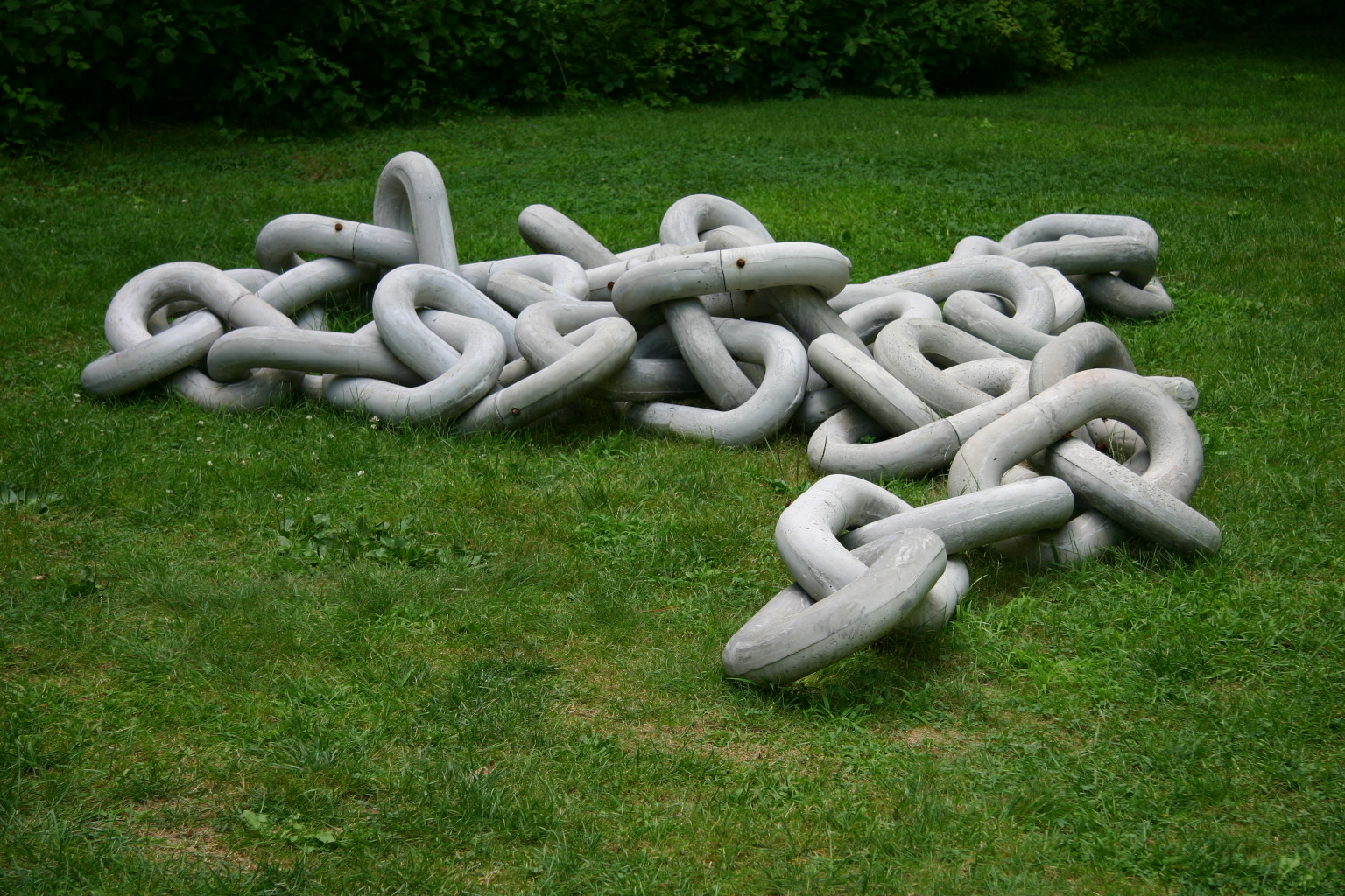 43 Links , 2006  Contemporary Sculpture at Chesterwood