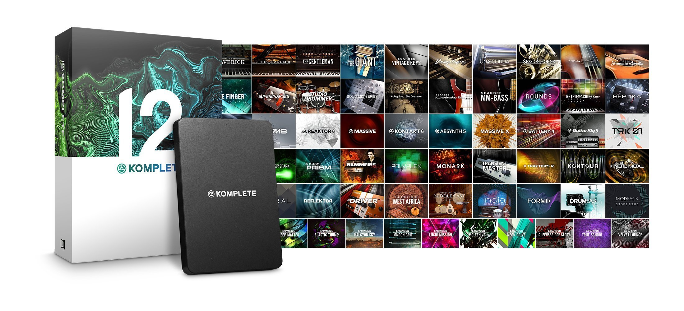 Komplete 12 Ultimate  by Native Instruments