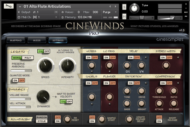 CineWinds Pro  by CineSamples