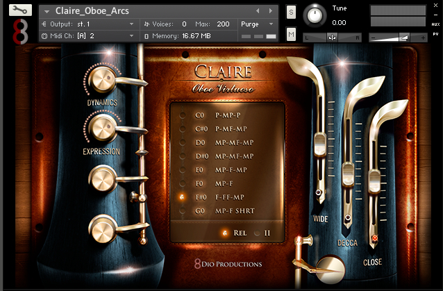 Claire Woodwinds Bundle  by 8DIO