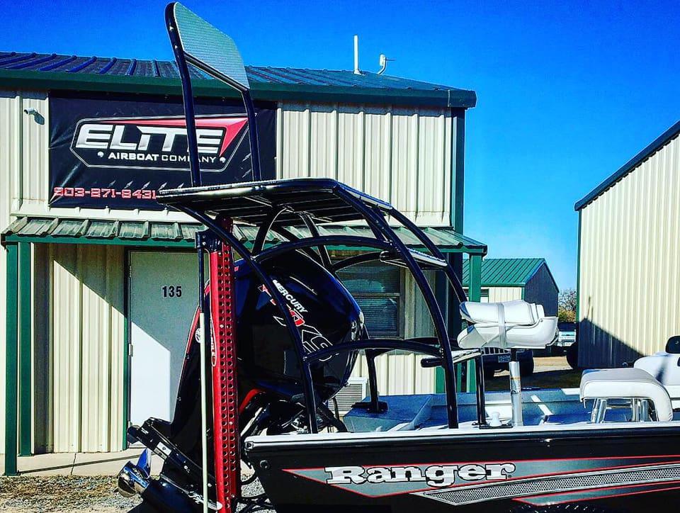 Custom Fabrication — Elite Airboat Company