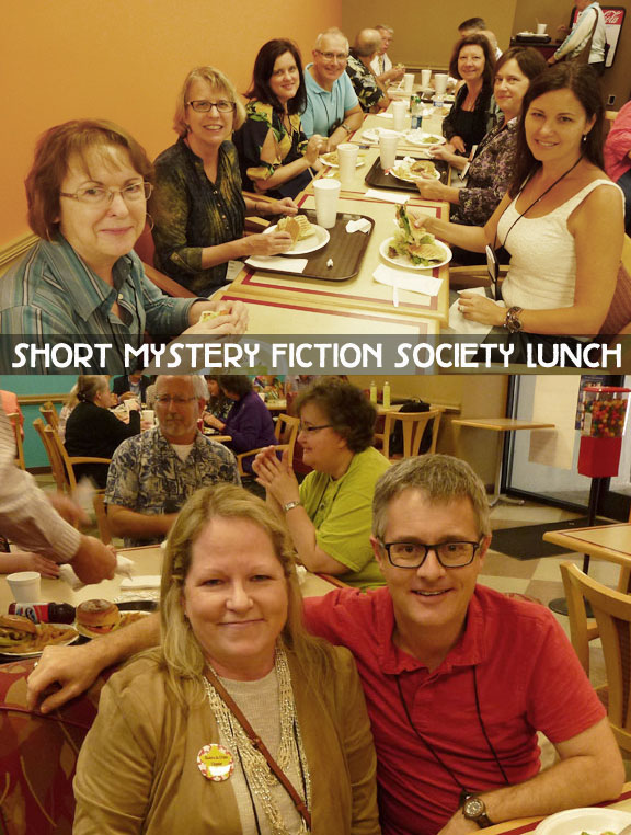 And thanks to Art Taylor and Gerald So for arranging a lunch meet-up for the Short Mystery Fiction Society.