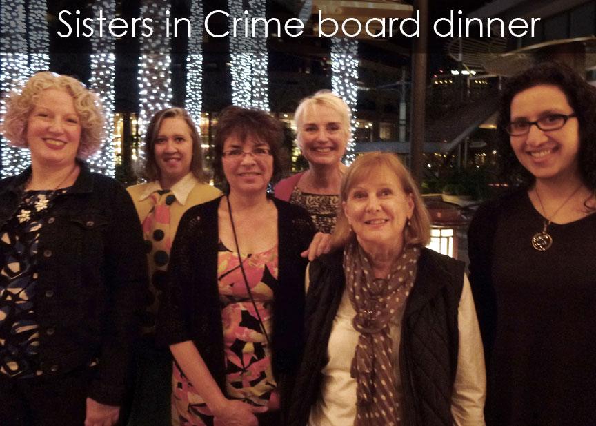 Sisters in Crime board dinner