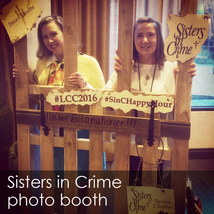 Sisters in Crime photo booth