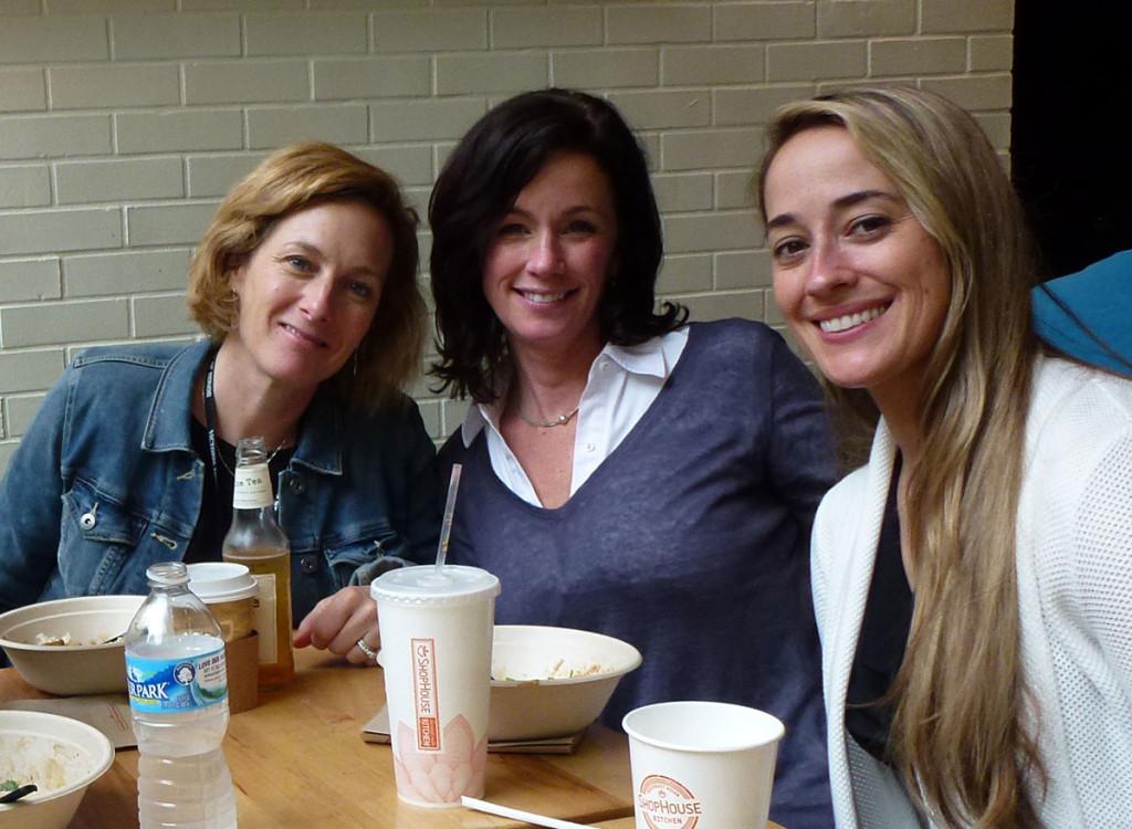 Linda Joffe Hull, Tracy Kiely, Nadine Nettmann.